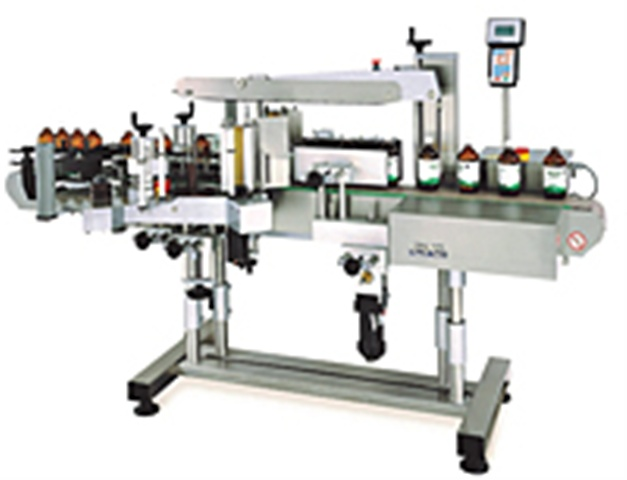 CVC430 Front/Back Labeler with Wrap Station