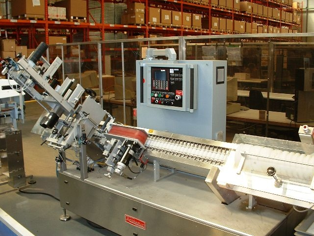 Accraply Pressure Sensitive Ampule Labeler