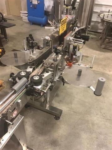 CVC Technologies Front / Back and Wrap Labeler, Model CVC 430C