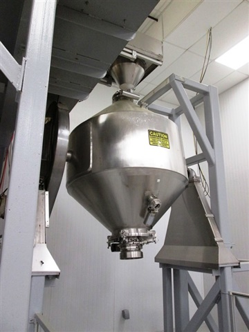 PAUL ABBE 30 CF S/S Double Cone Blender