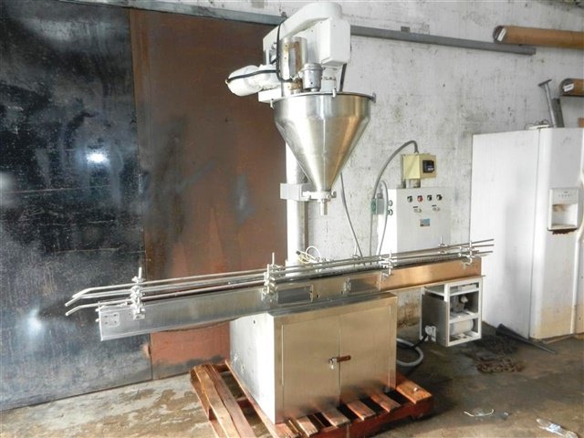 Mateer Single Head Automatic Powder Filler-Model 33A