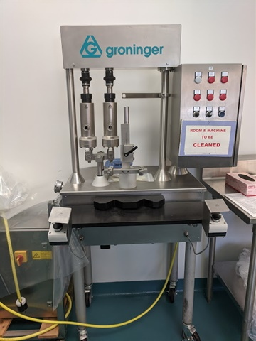 Groniger Semi-Automatic Piston Filler-Model DFH-022