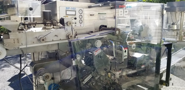 Pam-Pac (ACG/IMA) Blister Machine-Model BP 102