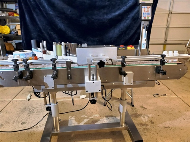 CVC Technologies Wrap Around Labeler-Model CVC 300C 4.