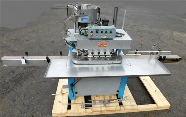 Kaps All 8 spindle Capper, Model C