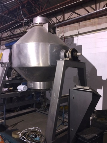 GEMCO 50 CF S/S Double Cone Blender