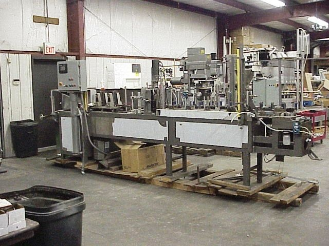 Rebuilt Bartelt Horizontal Form/Fill & Seal Machine