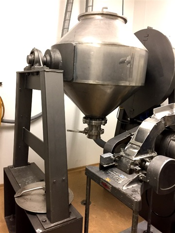 GEMCO 10 CF S/S Double Cone Blender