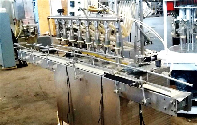 Fillrite Automatic Inline 8 head Pressure Gravity Filler-Model AP 50